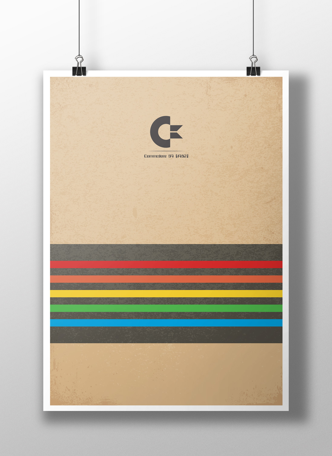 Commodore 64 Minimalist Poster