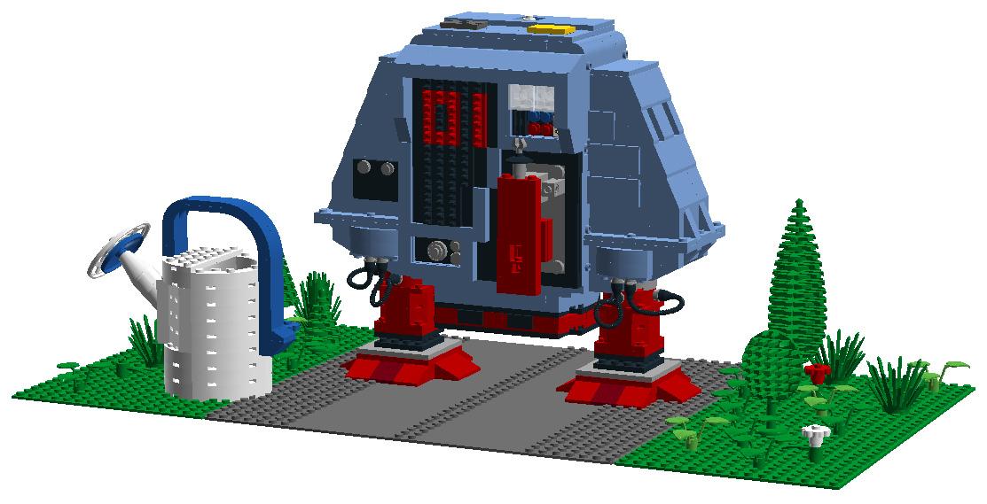 LEGO Ideas Dewey Front