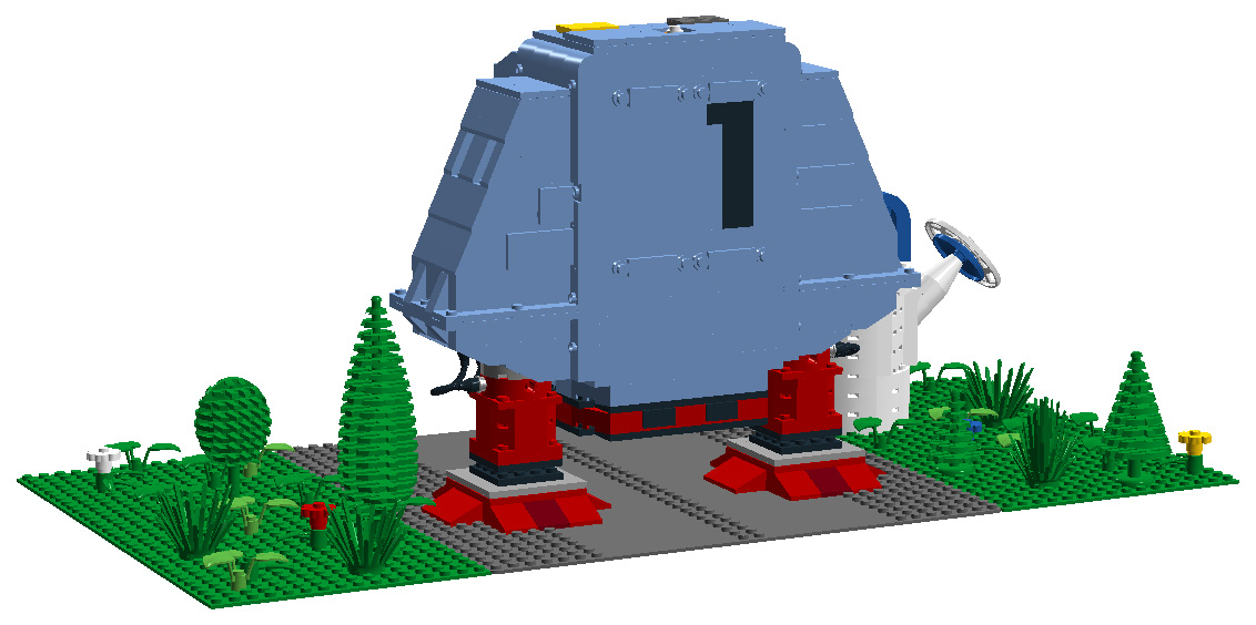 LEGO Ideas Dewey Back