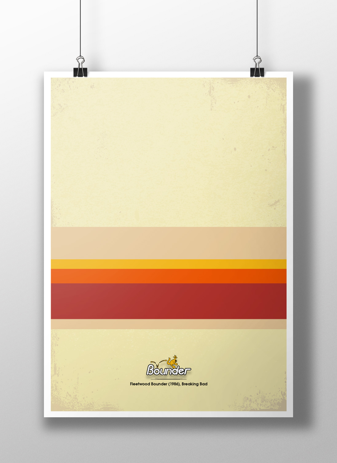 Breaking Bad Minimalist Poster