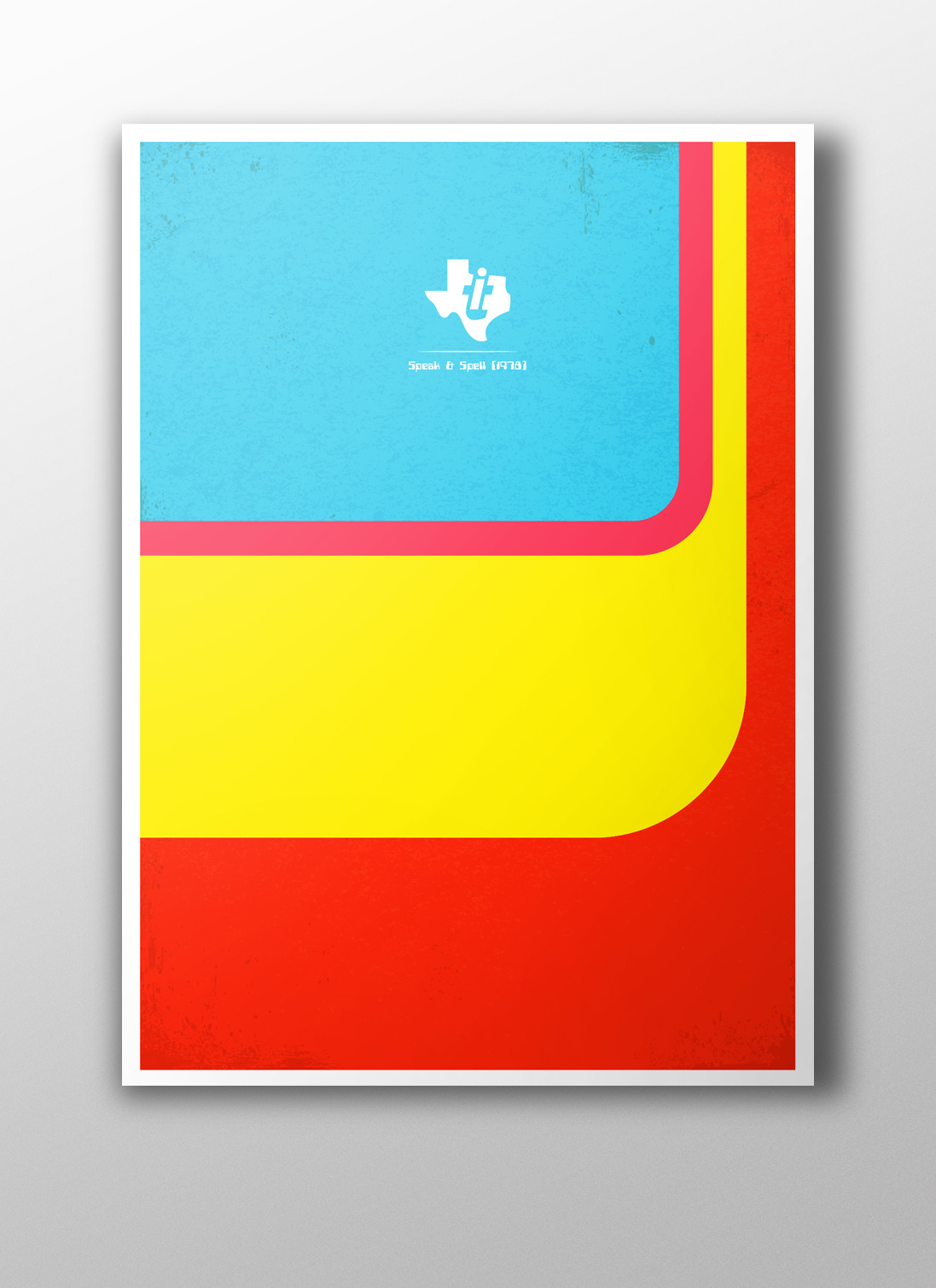Speak & Spell Minimalist Poster