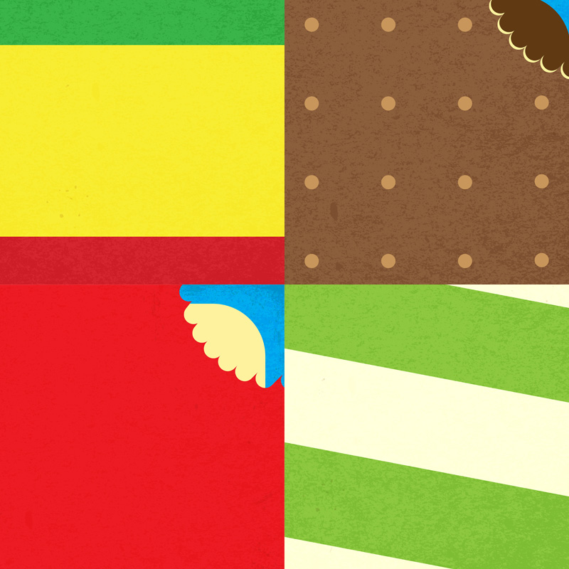 Minimalist Lolly Posters