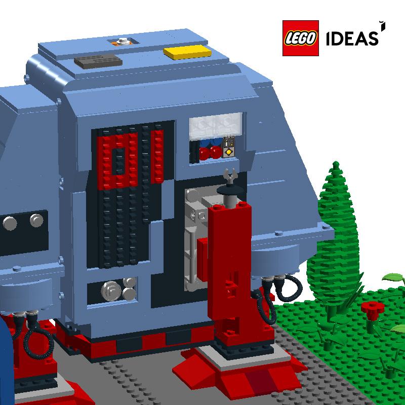 LEGO Dewey